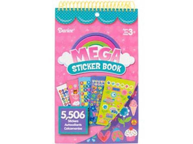 Mega Sticker Book-Girl
