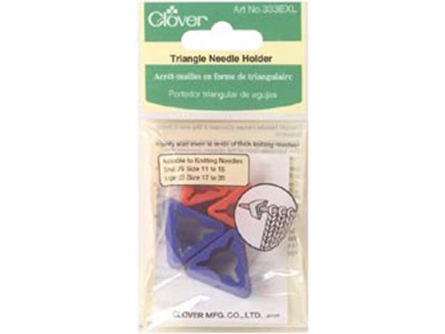 Triangle Needle Holder-For Jumbo Needles 4/Pkg