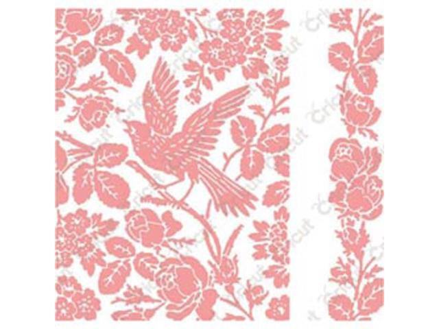 Cuttlebug A2 Embossing Folder/Border Set-Anna Griffin Aviary