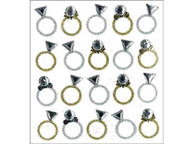 Jolee's Mini Repeats Stickers-Rings