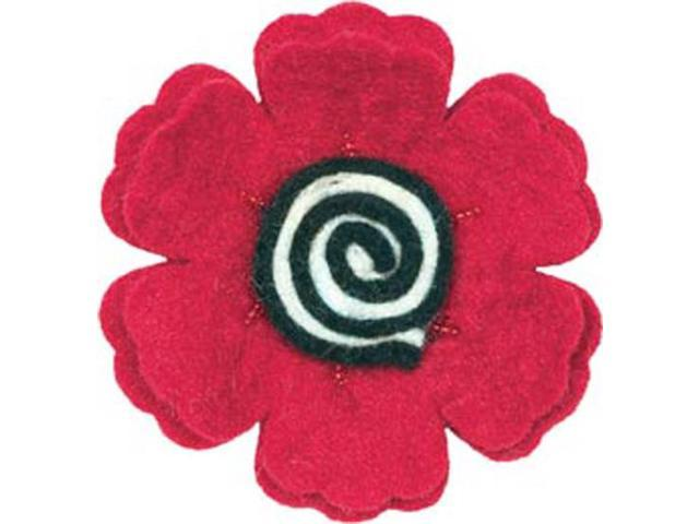 Feltworks Flower-Poppy