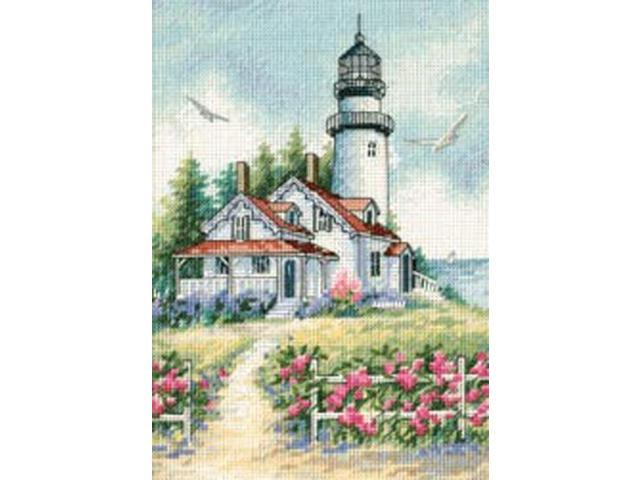 Gold Collection Petite Scenic Lighthouse Counted Cross Stitc-5