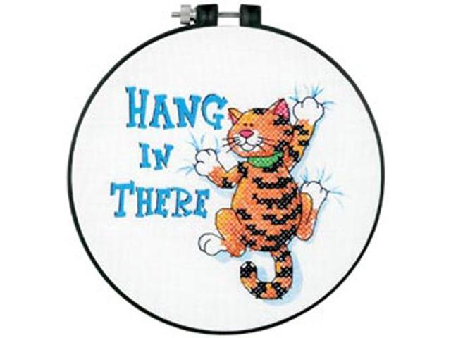 Learn-A-Craft Hang In There Stamped Cross Stitch Kit-6