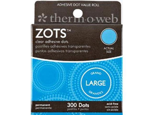 Zots Clear Adhesive Dots-Large 1/2