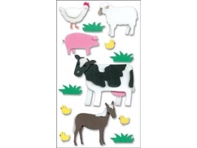 Jolee's Boutique Dimensional Foam Sticker-Farm Animals