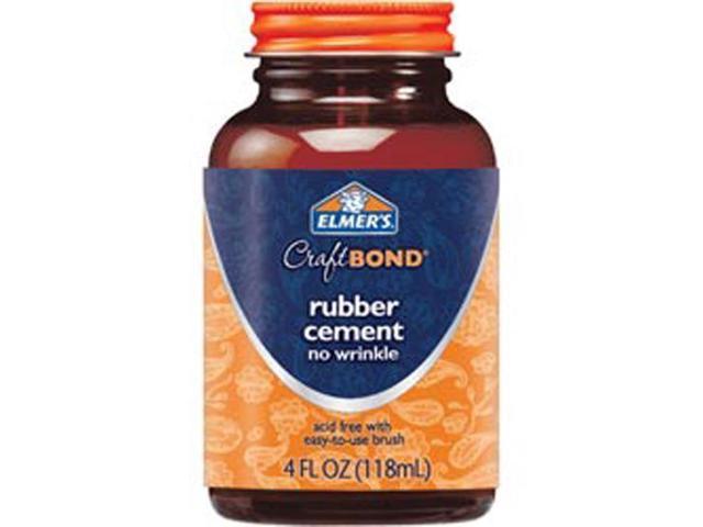 Elmer's Craft Bond Rubber Cement-4 Ounces