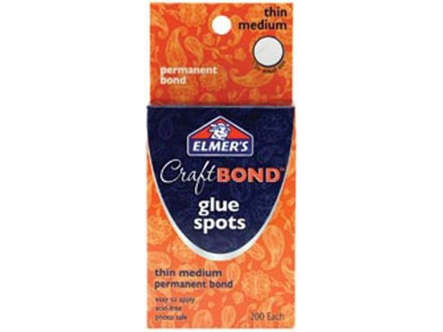 Elmer's CraftBond(R) Glue Spots-Thin Medium 200/Pkg
