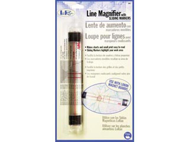 LoRan Line Magnifier With Sliding Markers-7/8