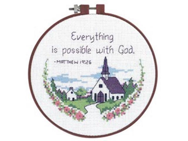 Learn-A-Craft Everything Is Possible Counted Cross Stitch Ki-6