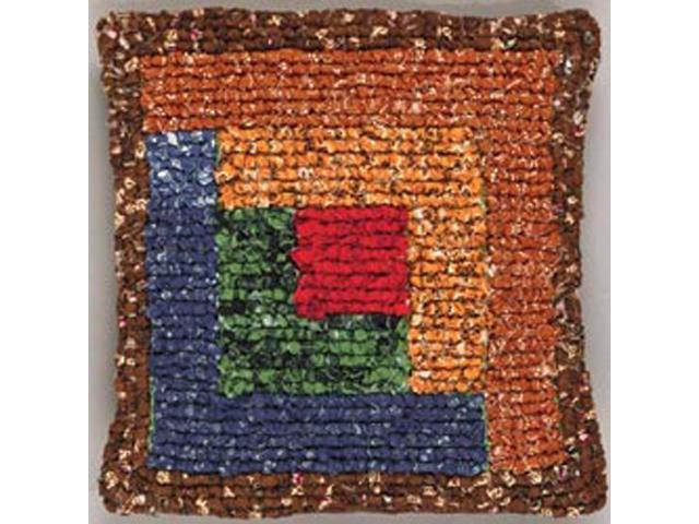 Quilt Mates Locker Hook Pillow Kit 11