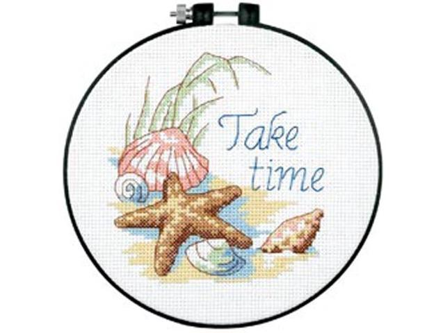 Learn-A-Craft Take Time Counted Cross Stitch Kit-6
