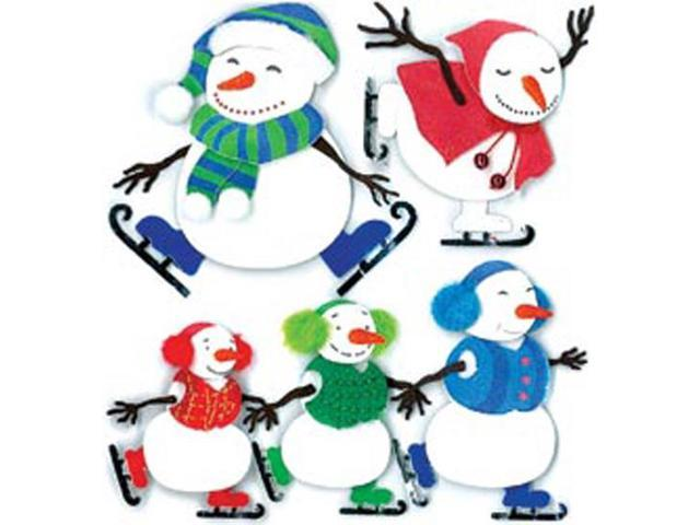 Jolee's Boutique Dimensional Stickers-Ice Skating