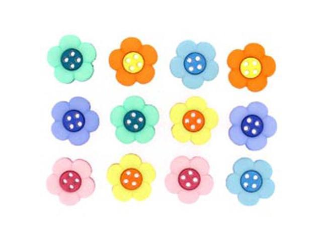 Dress It Up Embellishments-Sew Cute Two Part Daisy