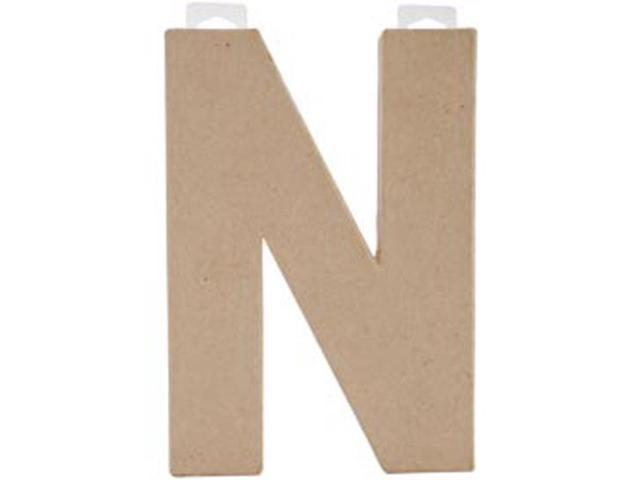 Paper Mache Letter 8