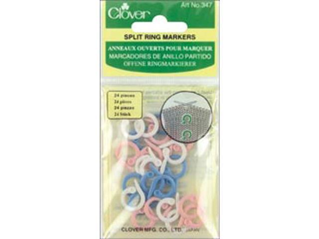 Split Stitch Marker Rings-Assorted Sizes 25/Pkg
