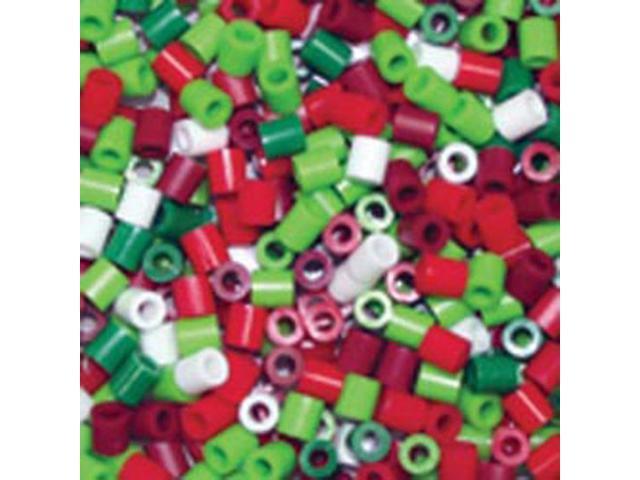 Perler Fun Fusion Beads 1000/Pkg-Holiday Mix