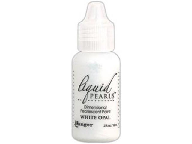 Liquid Pearls Glue .5 Ounce Bottle-White Opal