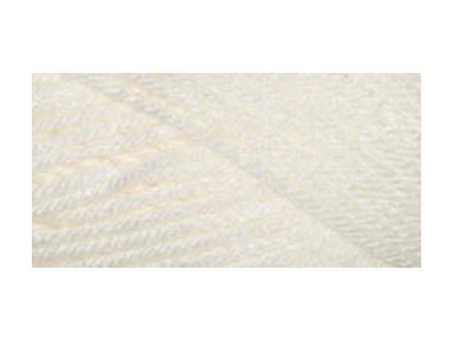 Everyday Anti-Pilling Soft Worsted Solids Yarn-Snow White