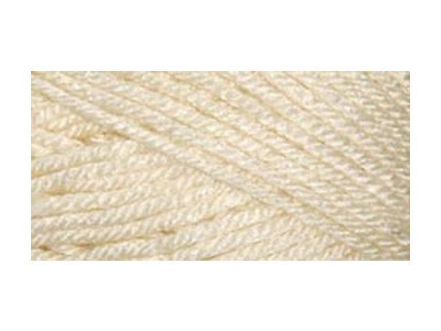 Everyday Anti-Pilling Soft Worsted Solids Yarn-Cream