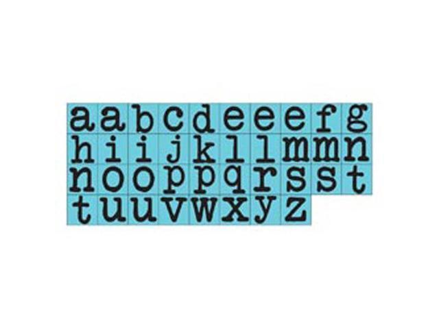 Prima Press Alphabet Stamp Set .25