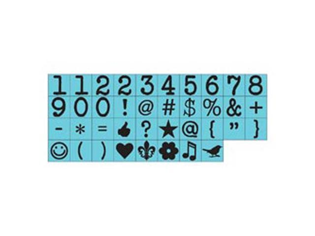 Prima Press Alphabet Stamp Set .25