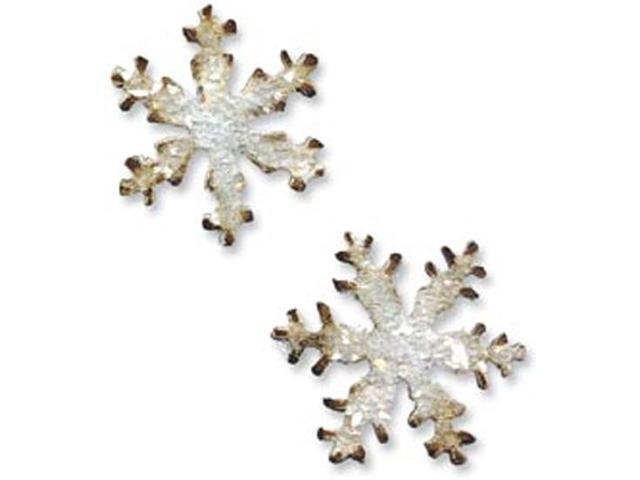 Sizzix Movers & Shapers Magnetic Dies By Tim Holtz 2/Pkg-Mini Snowflakes