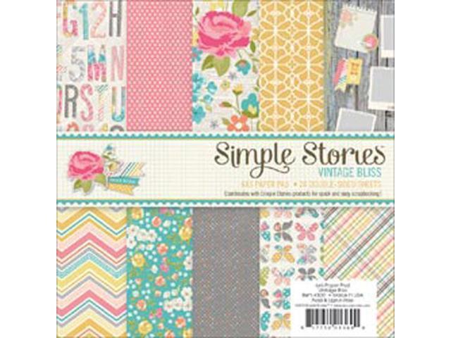 Vintage Bliss Paper Pad 6