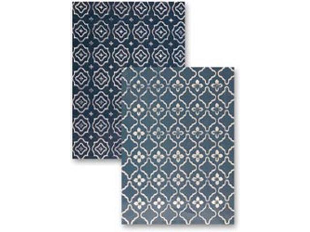M-Bossabilities Reversible A4 Embossing Folder-Regal