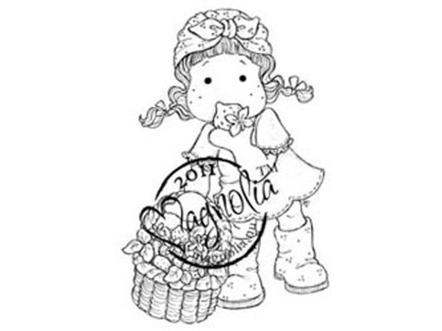 Sweet Rainbow Cling Stamp-Strawberry Yummy Tilda