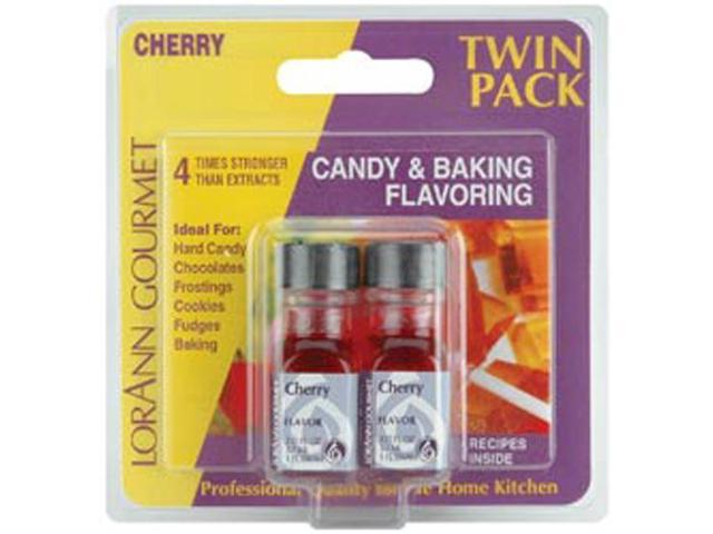 Candy & Baking Flavoring .125oz 2/Pkg-Cherry