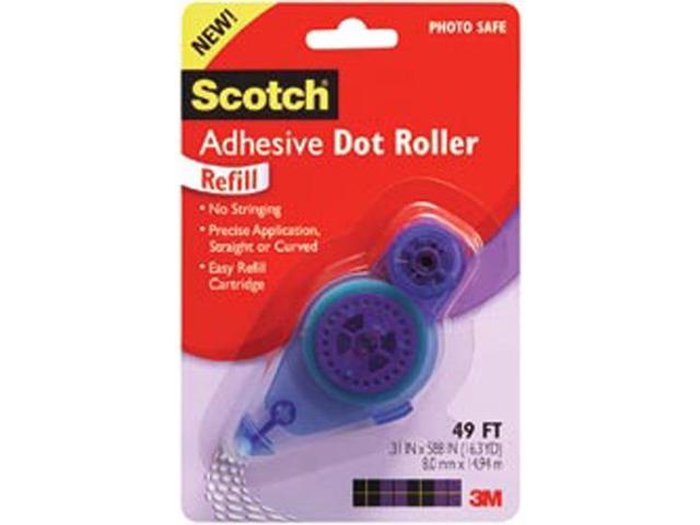 Scotch Adhesive Dot Roller Refill-.31