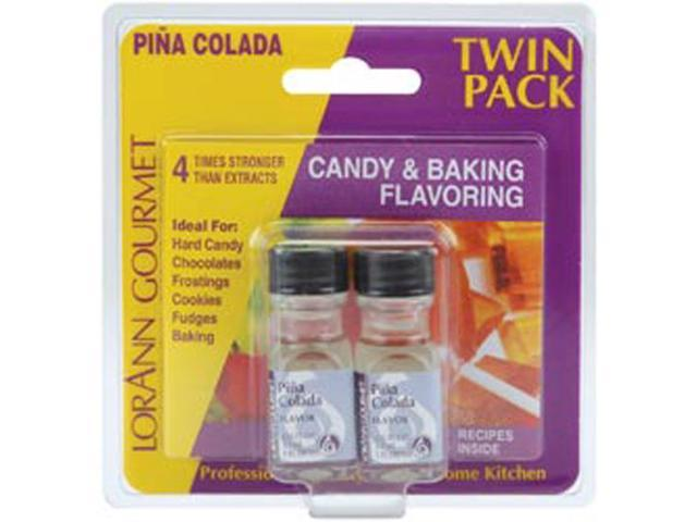 Candy & Baking Flavoring .125oz 2/Pkg-Pina Colada