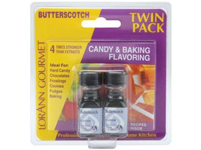 Candy & Baking Flavoring .125oz 2/Pkg-Butterscotch