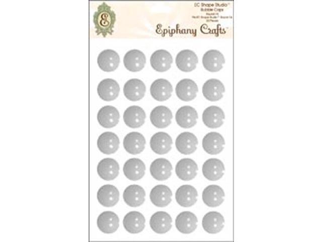 Epiphany Clear Bubble Caps-Round 14, 35/Pkg