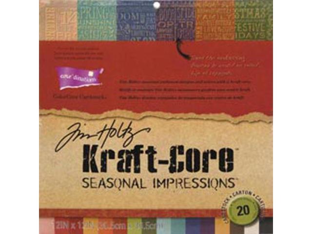 Core'dinations Kraft Core Cardstock Pad 12