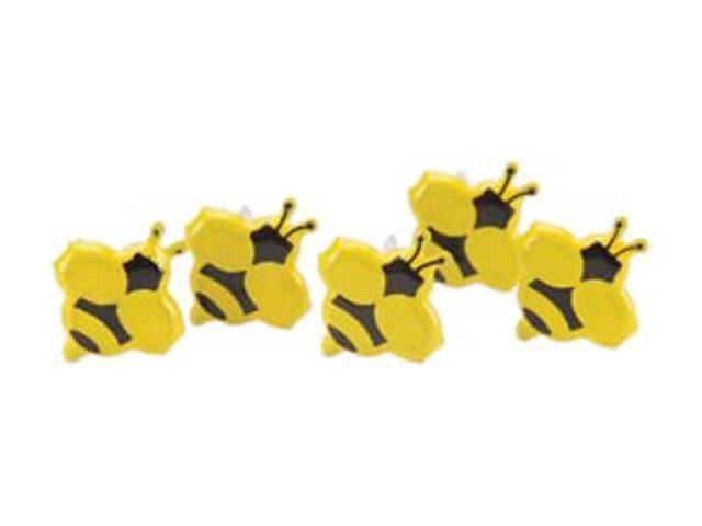 Eyelet Outlet Brads-Mini Bee 12/Pkg