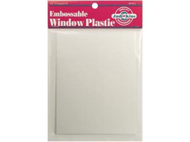 Embossable Window Plastic Sheets 4.25