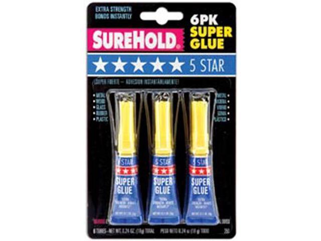 5 Star Super Glue-3 Grams Each 6/Pkg