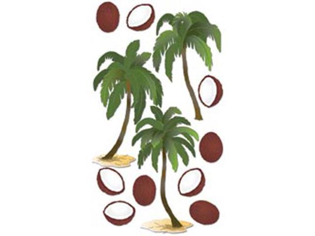 Jolee's Boutique Le Grande Dimensional Sticker-Coconut Palms