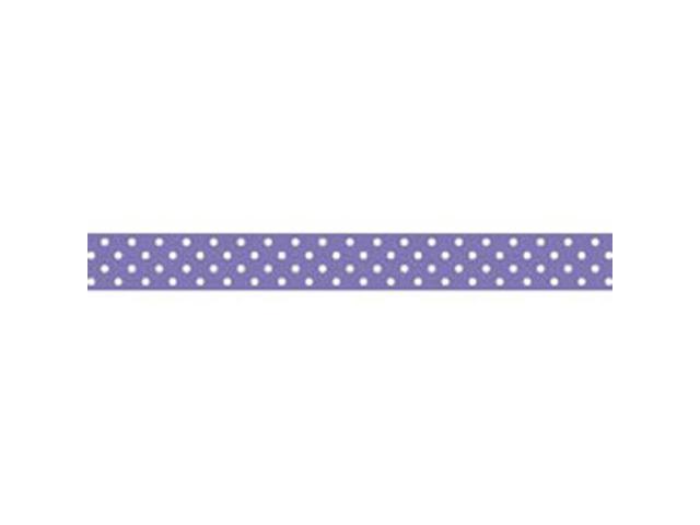 Washi Tape 15mm 12 Yards/Roll-Lilac Swiss Dot