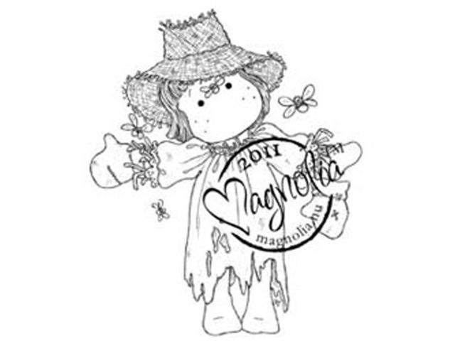 Sweet Rainbow Cling Stamp-Scarecrow Tilda