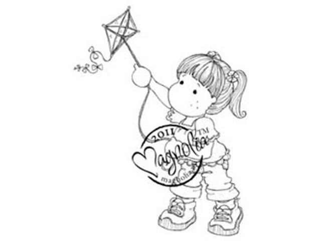 Sweet Rainbow Cling Stamp-Tilda With Kite