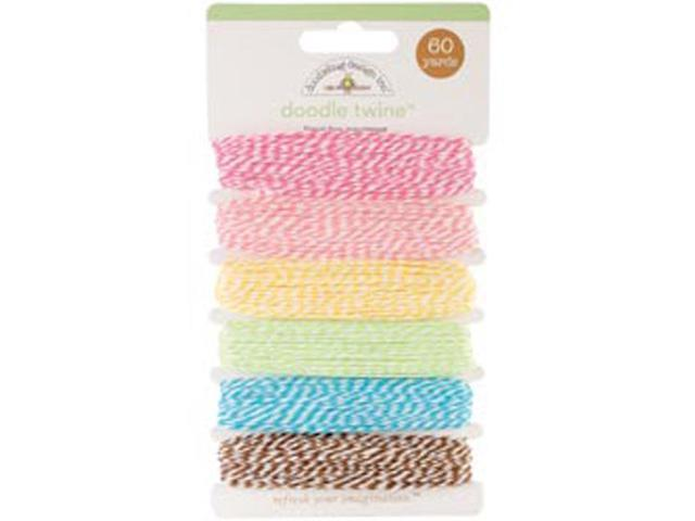 Flower Box Doodle Twine Assortment Pack 60yds-