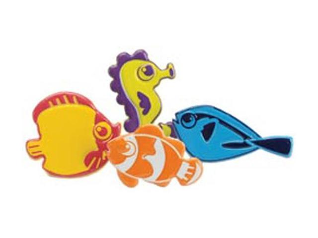 Eyelet Outlet Brads-Fun Fish 12/Pkg