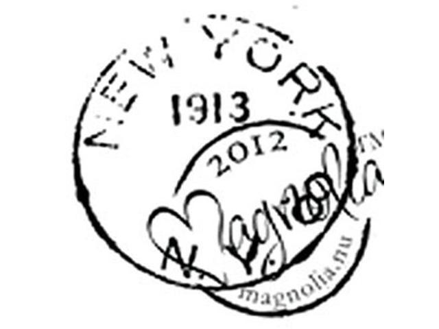 With Love Cling Stamp-New York