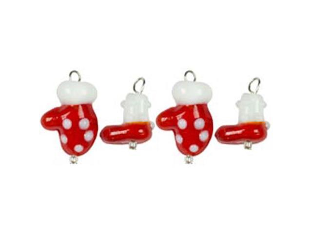 Tis The Season Charms-Mittens & Boots 4/Pkg
