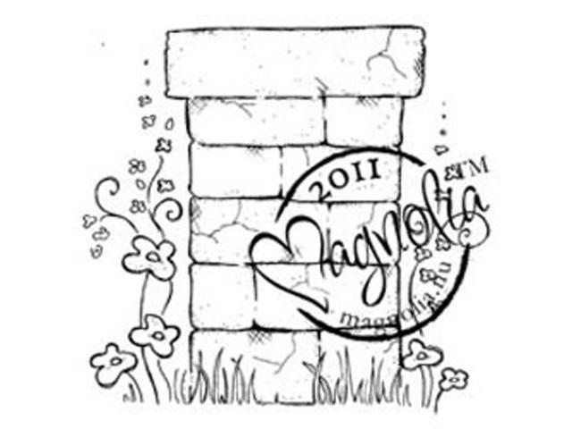 Sweet Rainbow Cling Stamp-Flower Wall Post
