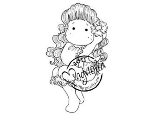 Sweet Rainbow Cling Stamp-Wonderful Tilda