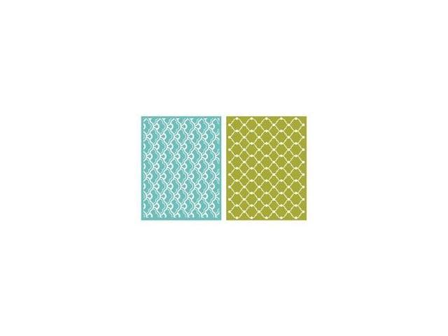 Goosebumps A2 Embossing Folders 2/Pkg-Whimsy
