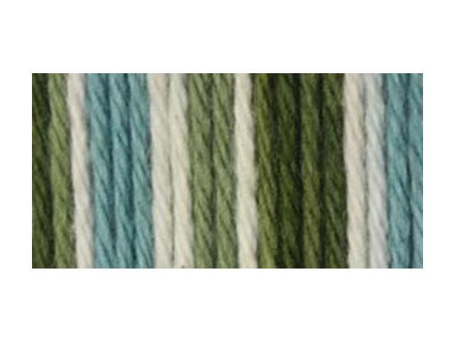 Sugar'n Cream Big Ball Naturals Yarn Ombres-Emerald Isle